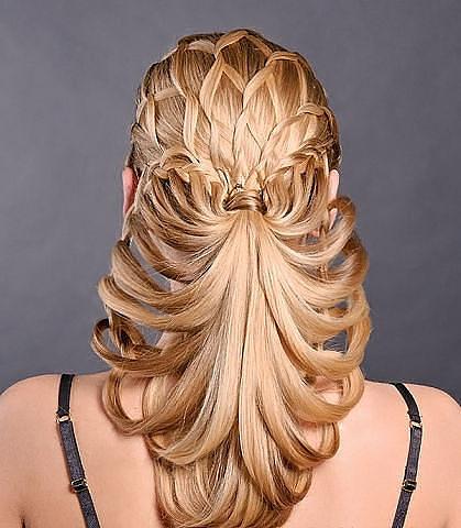 Красивые причёски из длинных волос